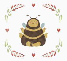 Karma Bee in Bloom #1 Kids Tee