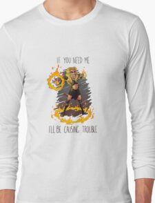 Callisto Causing Trouble Long Sleeve T-Shirt