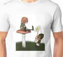 Goblin Valentine's Day Flower Gift Unisex T-Shirt