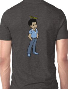 Gary Coleman 01 - with Halo Unisex T-Shirt