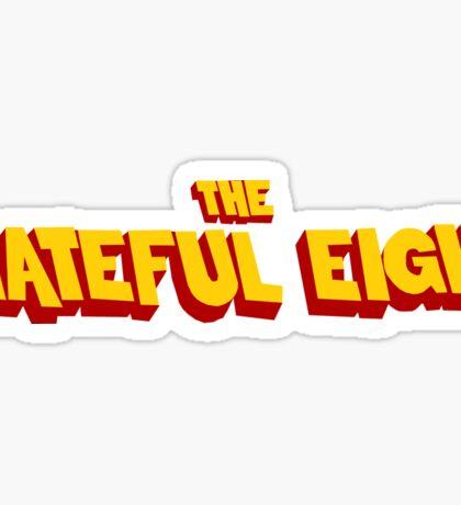 The Hateful Eight Sticker