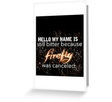 Firefly Greeting Card