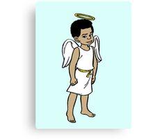 Gary Coleman 02 - Angel Canvas Print