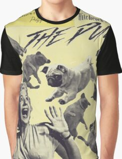 The Pugs Attack Graphic T-Shirt