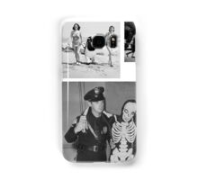 WTF - Threesome penguin bear and cops Samsung Galaxy Case/Skin