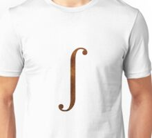 Bronze Integral Symbol Unisex T-Shirt