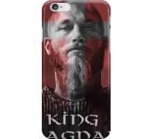 king ragnar iPhone Case/Skin