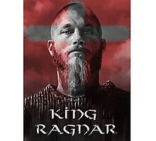 king ragnar Photographic Print