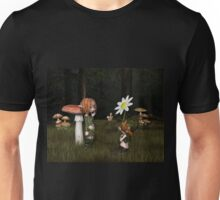 Goblin Valentine's Day in the Forest Unisex T-Shirt