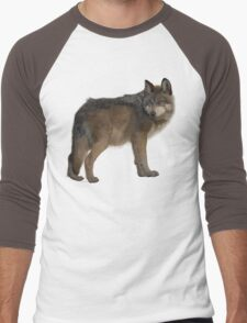 Wolf Mountain Men's Baseball ¾ T-Shirt