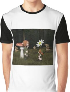 Goblin Valentine's Day in the Forest Graphic T-Shirt
