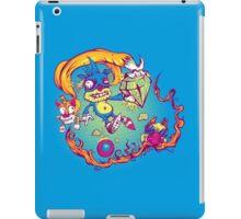 Sahnic Staaaahp! (blue background) iPad Case/Skin