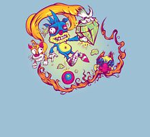 Sahnic Staaaahp! (blue background) Unisex T-Shirt