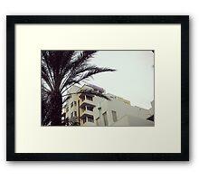 Marseilles (Miami) Framed Print