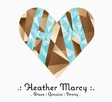 Heather Heart Facet T-Shirt