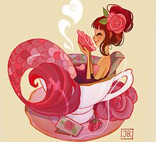 Tea Mermaid by Julia Blattman