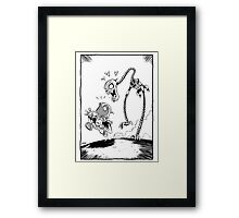 From Above® comic Framed Print