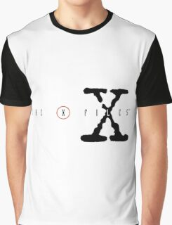 The X Files Logo Graphic T-Shirt