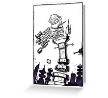 From Above® comic Greeting Card