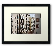 El Born (Barcelona) Framed Print
