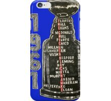 Chicago Blackhawks - 1961 iPhone Case/Skin