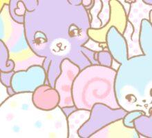 Cute Pastel Animals Sticker