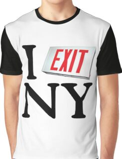 I Exit NY Graphic T-Shirt