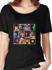 Mortal Kombat 2 Character Select Women's Relaxed Fit T-Shirt