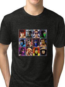Mortal Kombat 2 Character Select Tri-blend T-Shirt