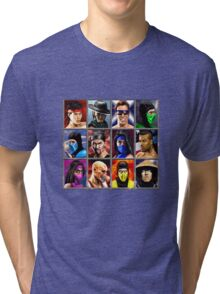 Mortal Kombat 2 Character Select Tri-blend T-Shirt