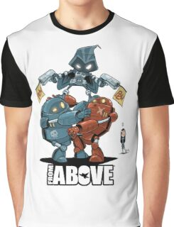 From Above Comic Graphic T-Shirt