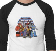 GoBots - Cast -  Logo Men's Baseball ¾ T-Shirt