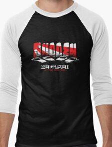 Sudden Samurai Men's Baseball ¾ T-Shirt