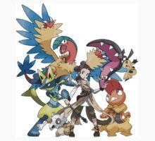 Star Wars/Pokemon - Rey's Pokemon Team Kids Clothes