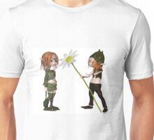 Goblin Valentine's Day Flower Unisex T-Shirt
