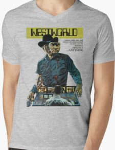 westworld Mens V-Neck T-Shirt
