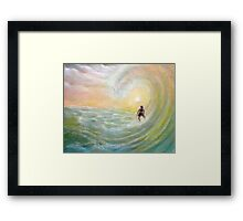 Pipe Line Framed Print