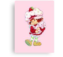 Strawberry Shortcake & Custard Canvas Print