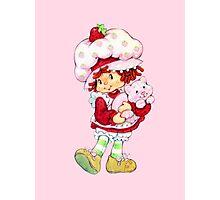 Strawberry Shortcake & Custard Photographic Print