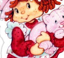 Strawberry Shortcake & Custard Sticker