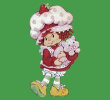 Strawberry Shortcake & Custard Baby Tee