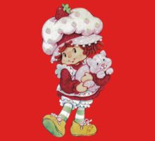 Strawberry Shortcake & Custard One Piece - Short Sleeve
