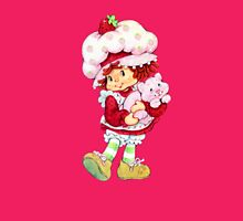 Strawberry Shortcake & Custard Womens Fitted T-Shirt