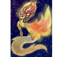 Sunset Shimmer - Final transformation Photographic Print