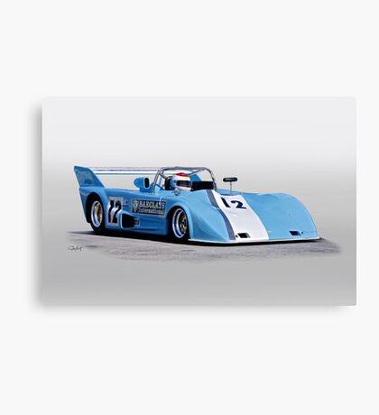 1973 Lola T292 Vintage Can Am Racecar Canvas Print