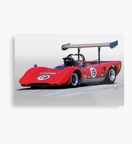1969 Lola T163 Vintage Can Am Racecar Metal Print