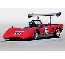 1969 Lola T163 Vintage Can Am Racecar Photographic Print