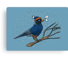 Annoyed IL Birds: The Robin Canvas Print
