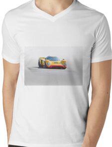 1969 Chevron B16 Vintage Racecar Mens V-Neck T-Shirt