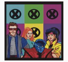 X-Men Teens 80s Kids Tee